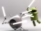 Яблоко против робота-инопланетянина