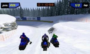 гонки на снегоходах для Android